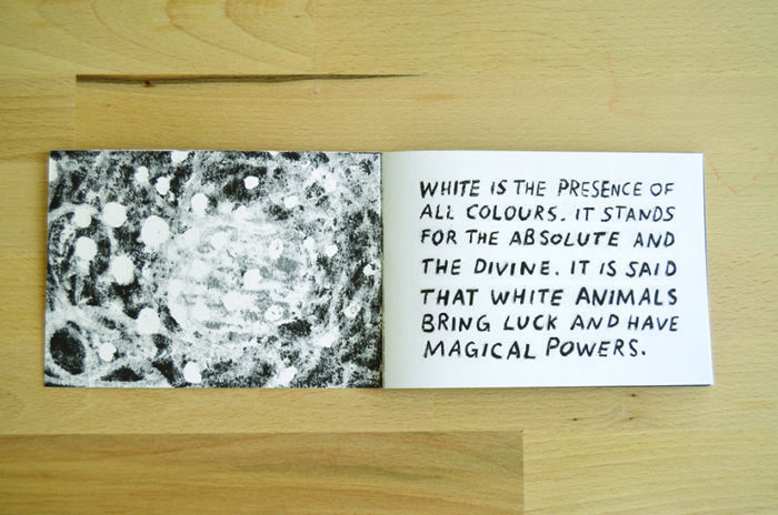 the little book of white animals