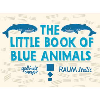 little book BLUE animals