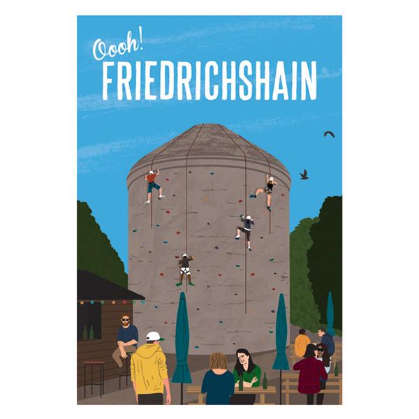 Oooh, Berlin! Friedrichshain
