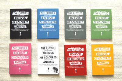 the little books big book of colored animals