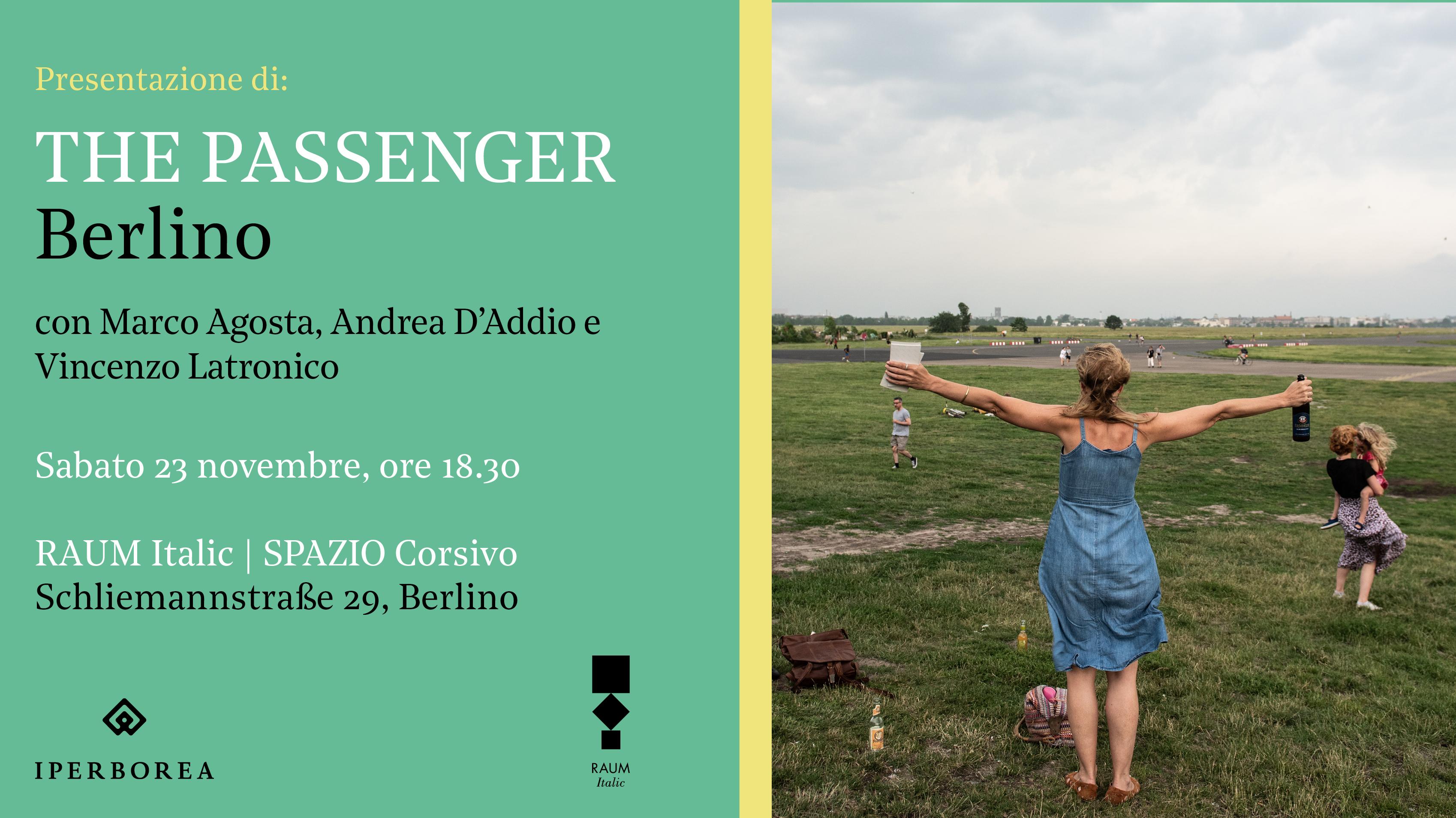 The Passenger Berlin